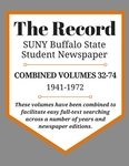 The Record, Combined Volume 32-74, 1941-1972