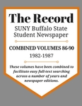 The Record, Combined Volume 86-90, 1982-1987