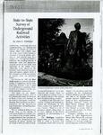 Survey of Underground Railroad Activities, American Visions, 1999 by Ann Eskridge