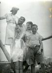 Włodzimierz Drzewieniecki with Friends, Family