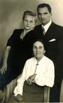 Jan Drzewieniecki with Wife and Mother