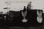 Marshall Józef Piłsudski Reviewing a Military Parade on Mokotów Field