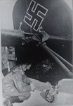 German Plane Damaged by Polish Anti-Aircraft Artillery