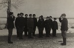 A Group of Young Polish Recruits on Military Exercises