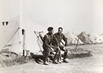 Two Soldiers at a Polish Army in the East