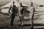 1st Lieutenant Włodzimierz Drzewieniecki, Captain Józef Gogacz, and 2nd Lieutenant Józef Maciąg