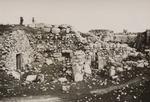 Ruins of a Crusader Castle at Emmaus
