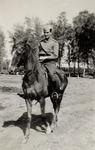 1st Lieutenant Włodzimierz Drzewieniecki on a Relaxed Ride After English Lessons