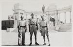 1st Lieutenant Włodzimierz Drzewieniecki with Cadet Nenkowski and Corporal Aolkmen