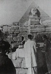 Soldier's Mass in Front of the Pyramids and Sphinxes
