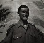 Captain Włodzimierz Drzewieniecki at the Polish II Corps