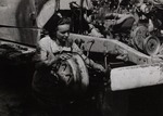 Woman Volunteer in the Transport Company of the Polish II Corps