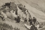 Postcard of a Photomontage of Polish Soldiers of the Polish II Corps Attacking the Germans at Monte Cassino