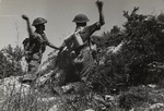 Polish Soldiers with Grenades During the Battle of Monte Cassino