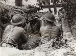 Machine Gunners in Action