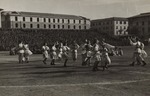 Krakowiak Folk Dance During Polish II Corps Athletic Competition Celebration