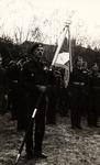 General Władysław Anders Addresses the Troops During the Ceremonial Presentation of Standards of the 12th Polodolian Uhlan Regiment