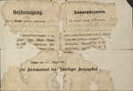 Certificate Stating that Włodzimierz Drzewieniecki had Been Released from the Prisoner of War Camp by German Commandant