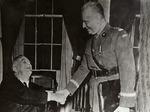 President Franklin Delano Roosevelt with General Władysław Sikorski