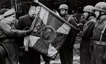 Karol Rozmarek Visiting the 1st Independent Polish Parachute Brigade
