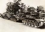 Polish 1st Armored Division Column