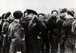 General Dwight D. Eisenhower with Members of the Polish 1st Armored Division