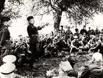 General Karol Świerczewski Instructing Soldiers