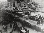 First Military Parade after the Nazi's Retreated from Warsaw