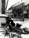 Polish Street Fighters Attacking German Forces in the Town of Nysa