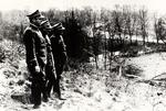 Polish Generals at the Oder River During the Soviet Offensive Against Germany
