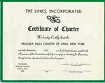 Certificate of Charter; 1950