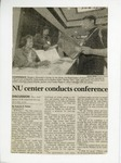 Clipping; NU Center Conference; 1998-03-19