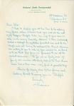Correspondence; Conference; 1953-06-05