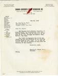 Correspondence; Missing Links; 1953-05-26