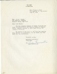 Correspondence; Missing Links; 1953-06-05
