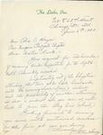 Correspondence; Missing Links; 1953-06-06