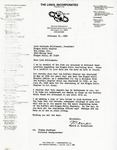 Correspondence; National Chapter; 1989-02-21