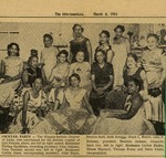 Event; Cocktail Charity Party; Clipping; 1954-06-16
