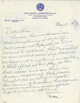 Event; EAC; 1953; Correspondence; 1953-05-21