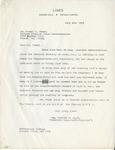 Event; EAC; 1953; Correspondence; 1953-06-01