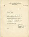Event; EAC; 1953; Correspondence; 1953-06-08