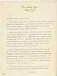 Event; EAC; 1953; Correspondence; 1953-07