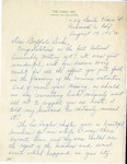 Event; EAC; 1953; Correspondence; 1953-08-19 by Links, Inc.