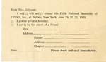 Event; EAC; 1953; Papers; RSVP; 1953-06-19