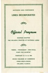 Event; SAC; 1954; Pamphlet; 1954-02-14 by Links, Inc.
