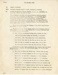 Minutes; Executive Council; 1951-01-20