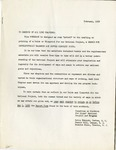 Papers; National Gifted Minority Youth; 1959-02