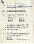 Papers; Radio QA; 1954