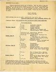 Program; Conference; 1953-03-23