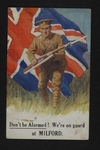 On Guard at Milford (1) by WWI Postcards from the Richard J. Whittington Collection